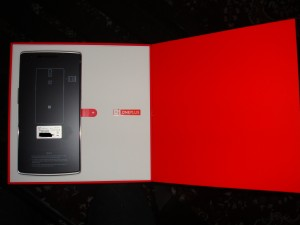 This is the first look you get of your OnePlus One.